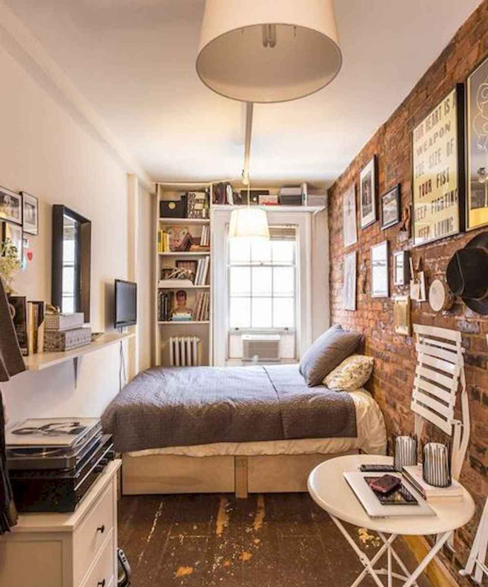 40 creative small apartment bedroom decor ideas (15)