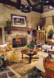 40 elegant fall mantle decor ideas (10)