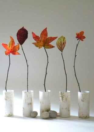 40 elegant fall mantle decor ideas (40)
