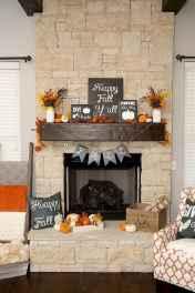 40 elegant fall mantle decor ideas (9)