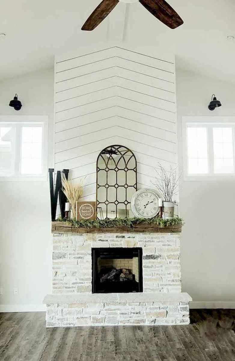 40 elegant fireplace makeover for farmhouse home decor (33)