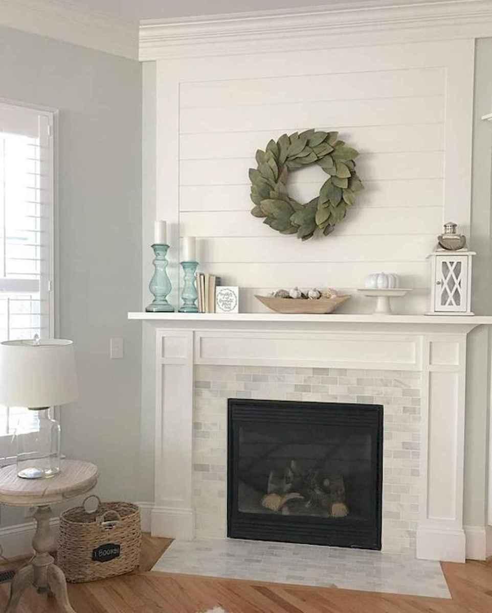40 elegant fireplace makeover for farmhouse home decor (4)