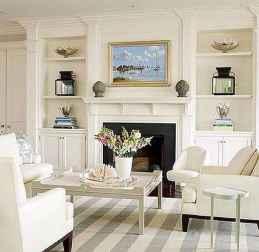 40 elegant fireplace makeover for farmhouse home decor (7)