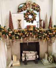 50 elegant christmas mantle decor ideas (2)