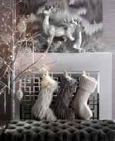 50 elegant christmas mantle decor ideas (30)