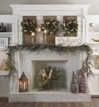 50 elegant christmas mantle decor ideas (43)