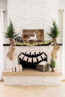 50 elegant christmas mantle decor ideas (53)