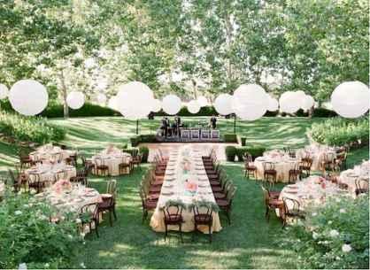 40 awesome backyard wedding decor ideas (20)