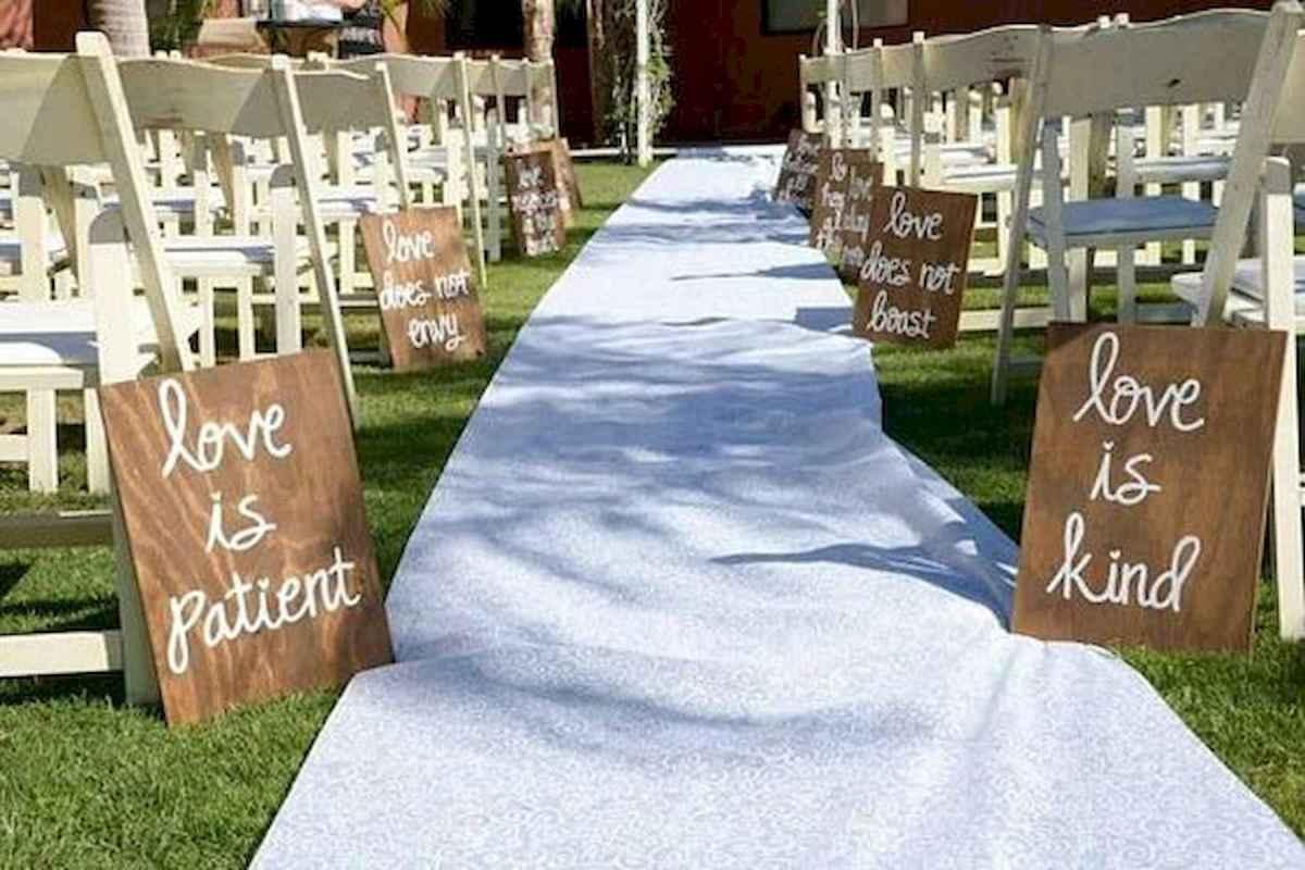 40 awesome backyard wedding decor ideas (22)