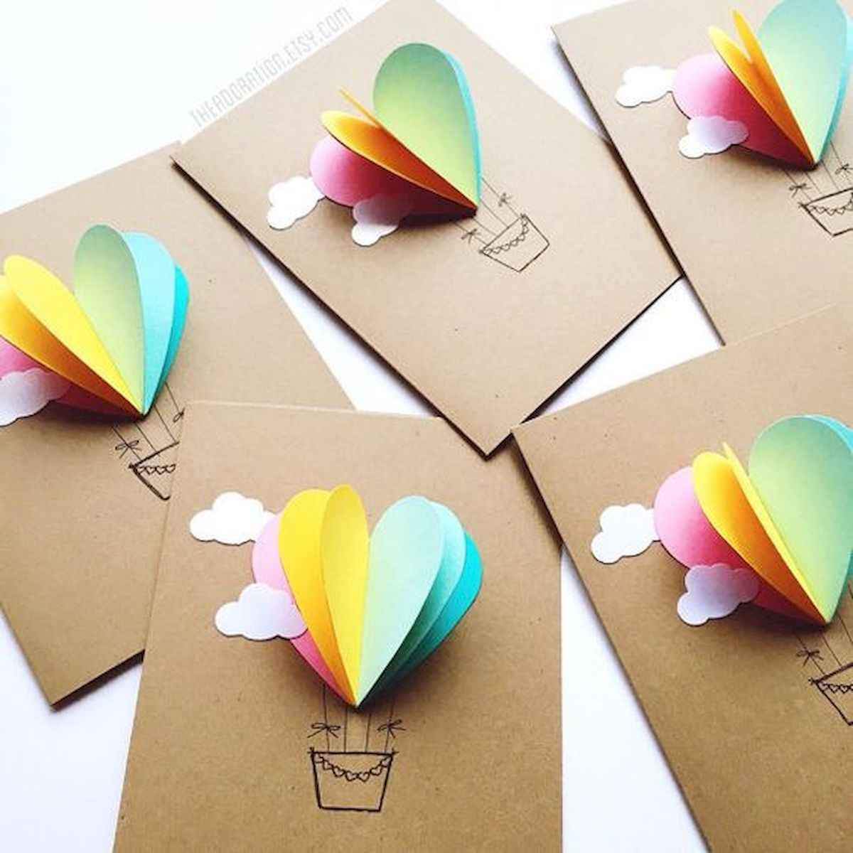 50 inspiring easy craft ideas for kids you must try (5)