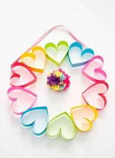 75 lovely valentines day crafts design ideas (53)