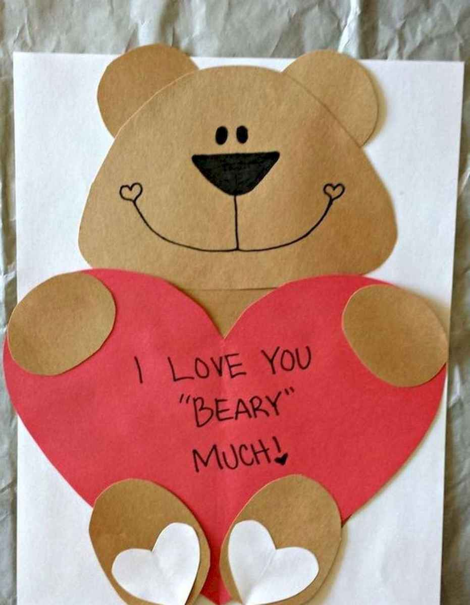 75 lovely valentines day crafts design ideas (55)