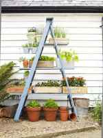 50 unique and creative ladder in the garden design ideas and remodel (1)