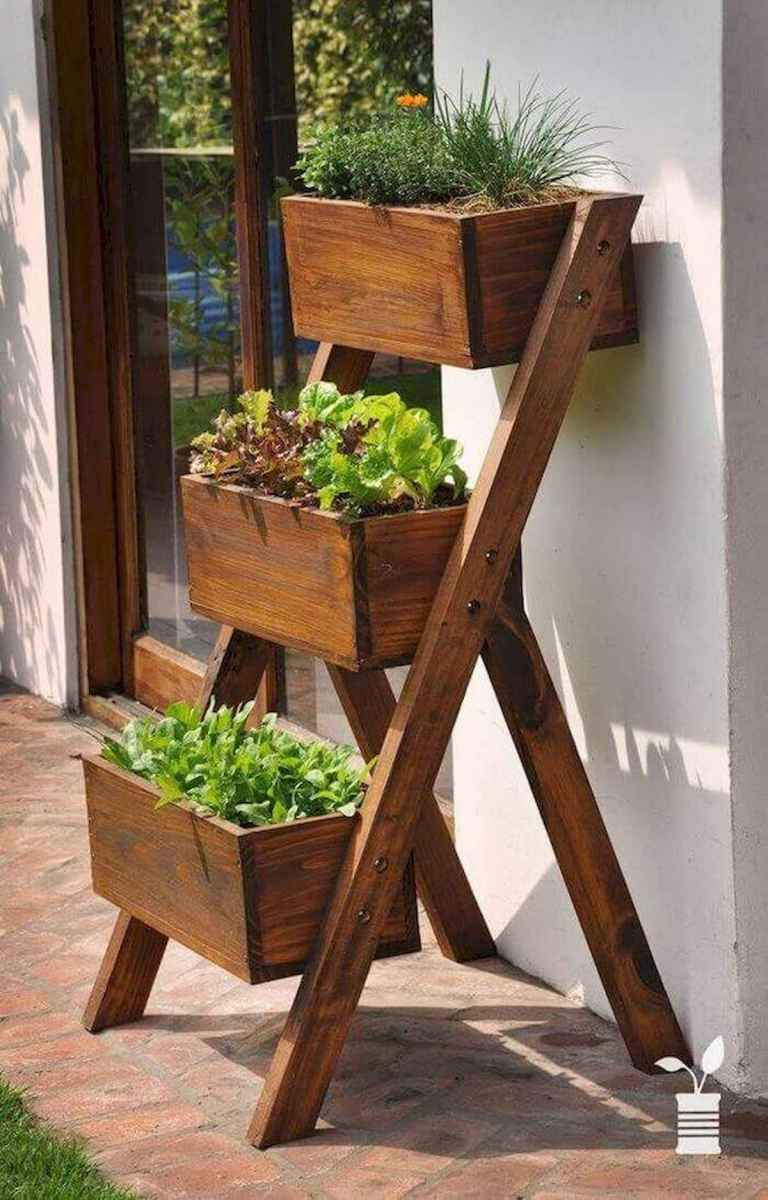 50 unique and creative ladder in the garden design ideas and remodel (11)