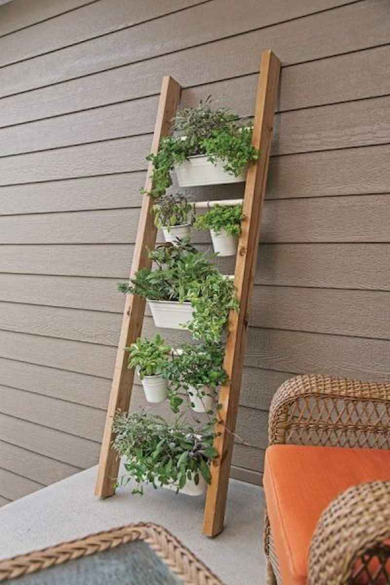 50 unique and creative ladder in the garden design ideas and remodel (43)