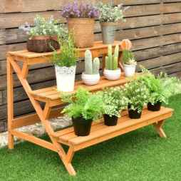 50 unique and creative ladder in the garden design ideas and remodel (44)