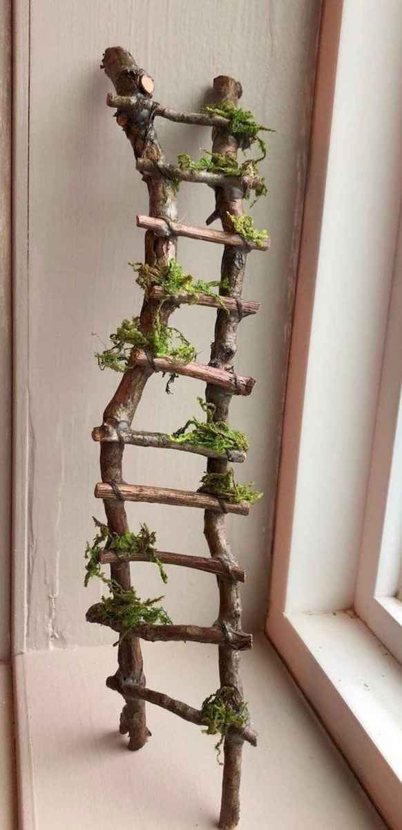 50 unique and creative ladder in the garden design ideas and remodel (50)