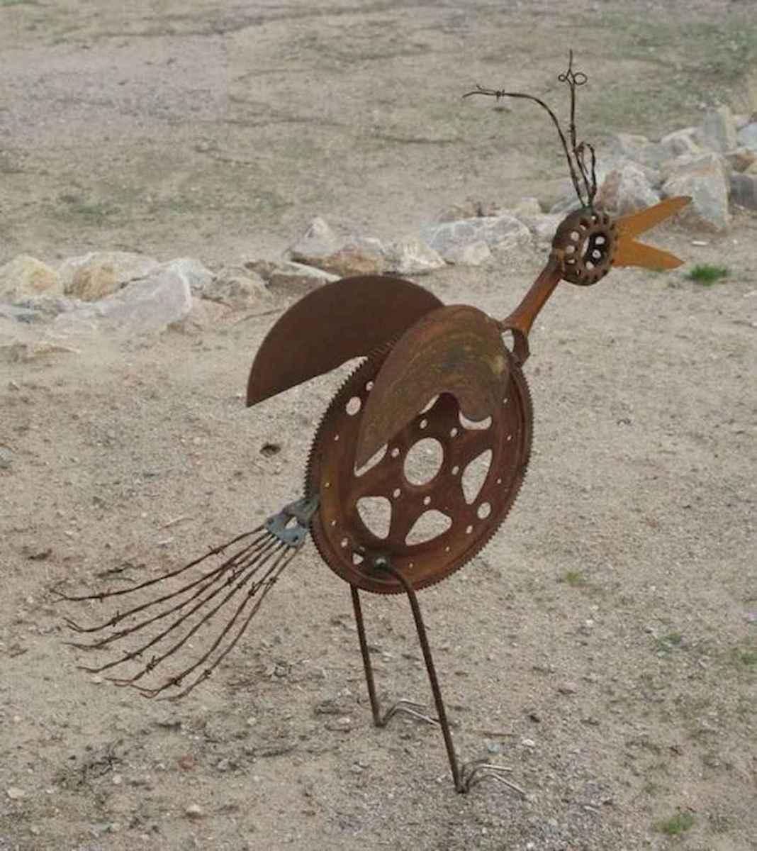 70 creative and genius garden art from junk design ideas for summer (32)