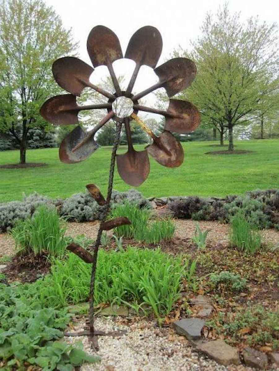 70 creative and genius garden art from junk design ideas for summer (8)