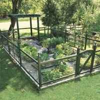 90 lovely backyard garden design ideas for summer (23)