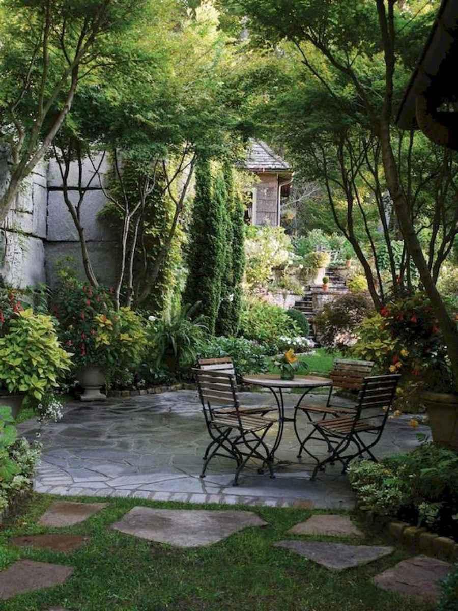 90 lovely backyard garden design ideas for summer (42)