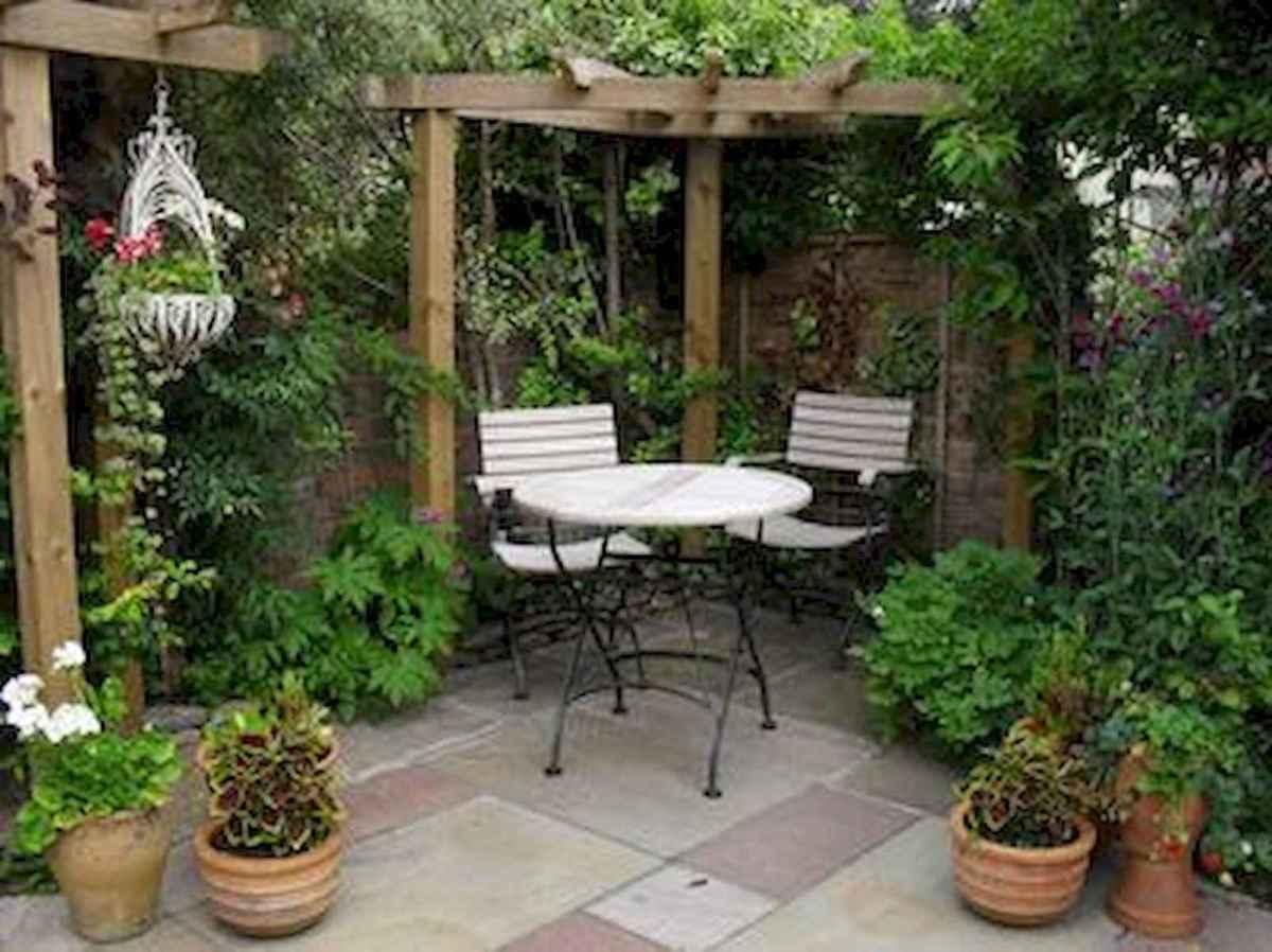 90 lovely backyard garden design ideas for summer (45)