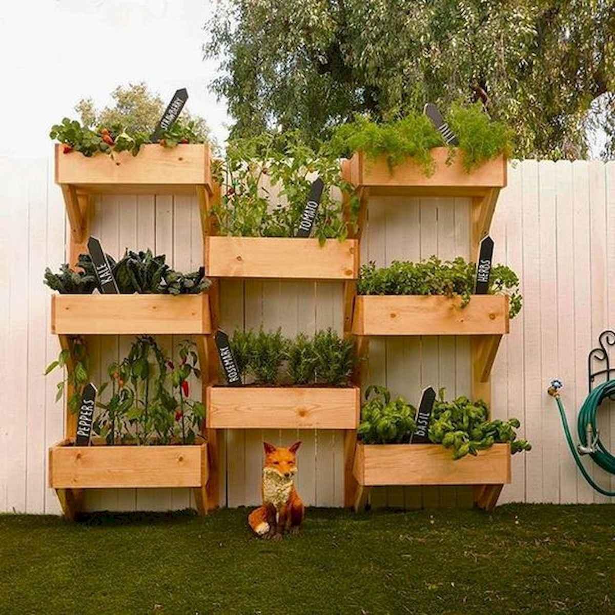 90 lovely backyard garden design ideas for summer (72)
