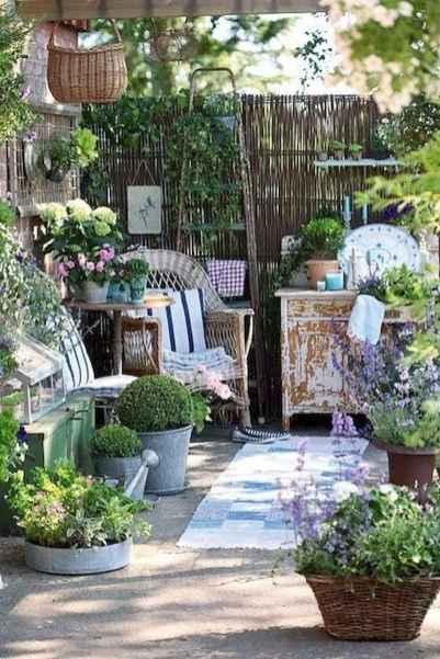 90 lovely backyard garden design ideas for summer (73)