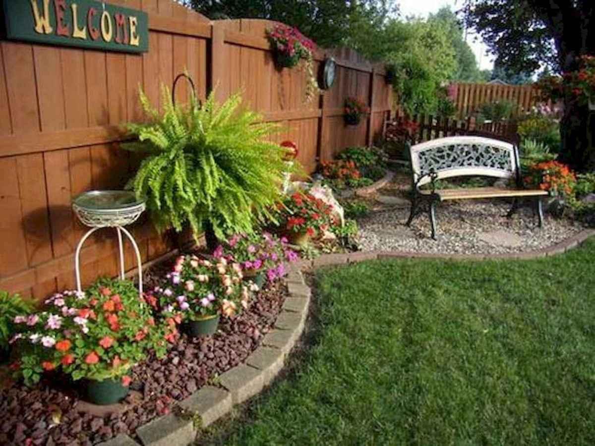 90 lovely backyard garden design ideas for summer (78)