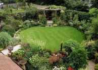90 lovely backyard garden design ideas for summer (90)