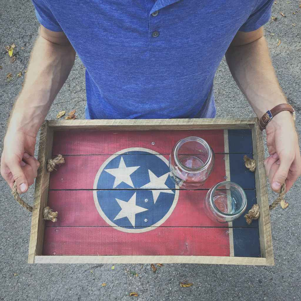 27 rustic serving trays ideas (21)