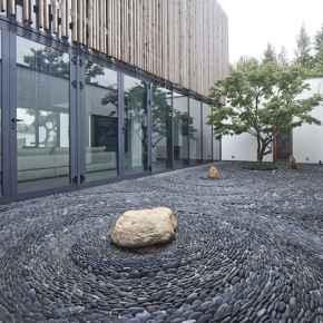 30 simple & modern rock garden design ideas front yard (21)