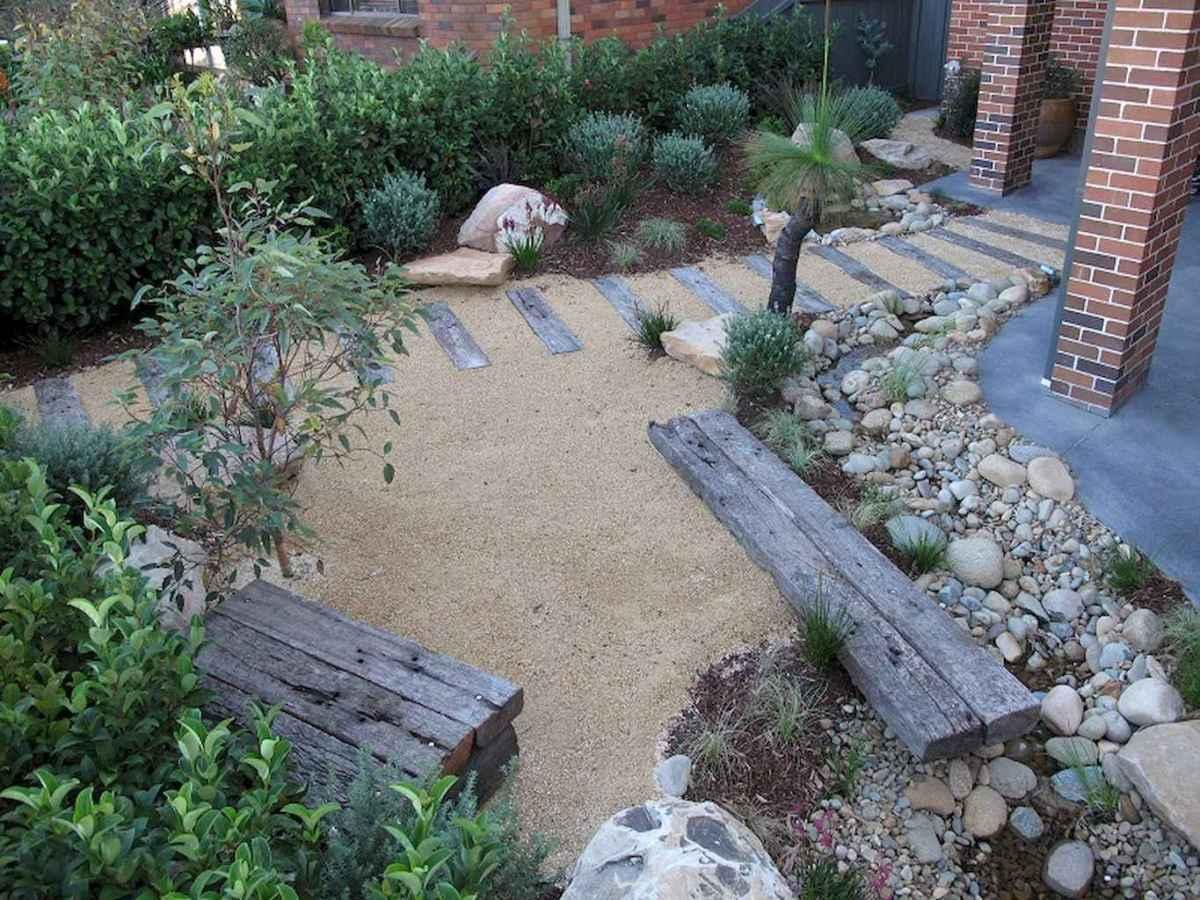 30 Simple Modern Rock Garden Design Ideas Front Yard 22 Room