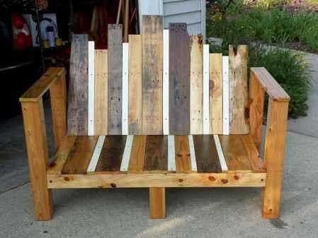 40 cheap diy outdoor bench design ideas for backyard & frontyard (23)