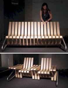 40 cheap diy outdoor bench design ideas for backyard & frontyard (29)