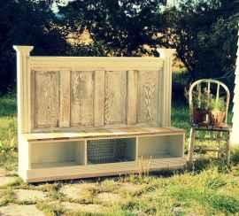 40 cheap diy outdoor bench design ideas for backyard & frontyard (33)
