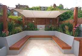 40 cheap diy outdoor bench design ideas for backyard & frontyard (35)