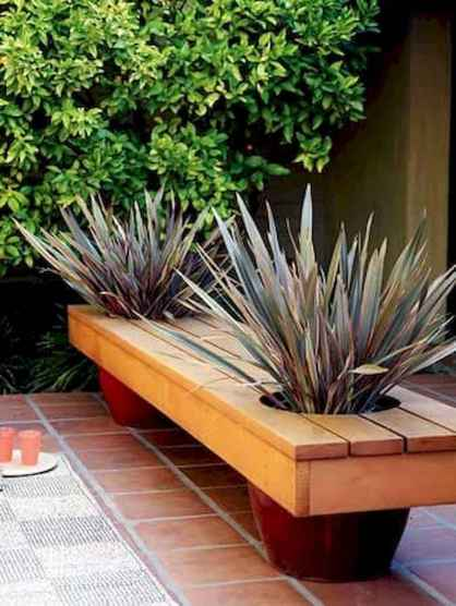 40 cheap diy outdoor bench design ideas for backyard & frontyard (5)