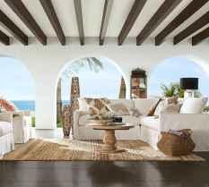 44 cozy coastal themed living room decor ideas that makes your home feels like beach (30)