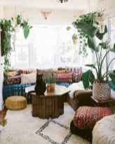 44 modern bohemian living room ideas for small apartment (13)
