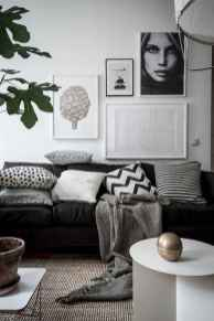 44 modern bohemian living room ideas for small apartment (3)