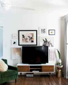 50 beautiful gallery wall ideas to show your photos (40)