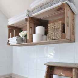50 clever diy wood shelves ideas on a budget (33)
