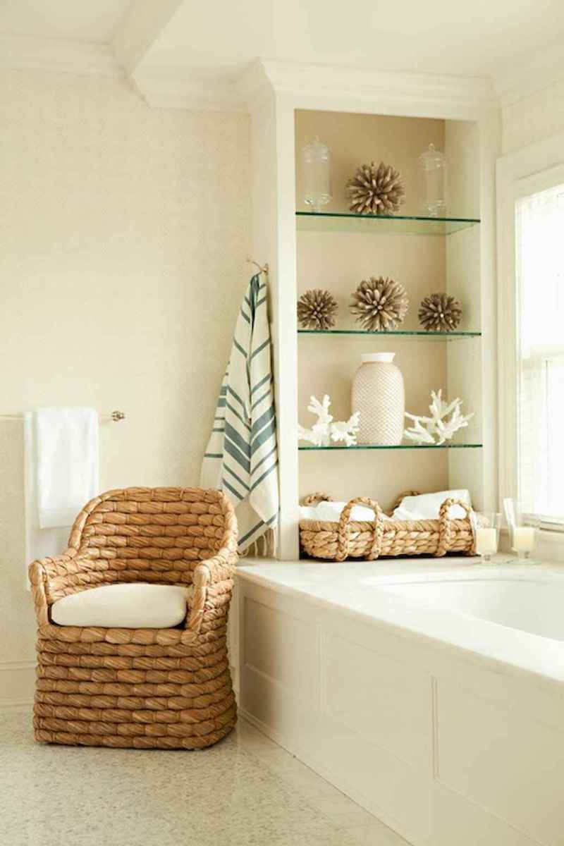55 gorgeous beach themed bathroom design & decor ideas (1)