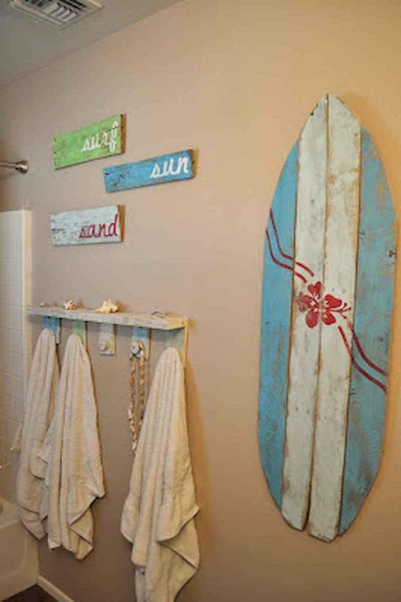 55 gorgeous beach themed bathroom design & decor ideas (16)