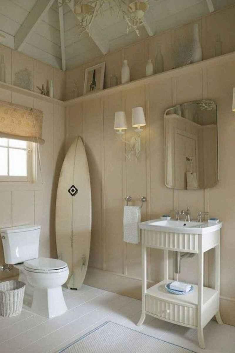 55 gorgeous beach themed bathroom design & decor ideas (38)