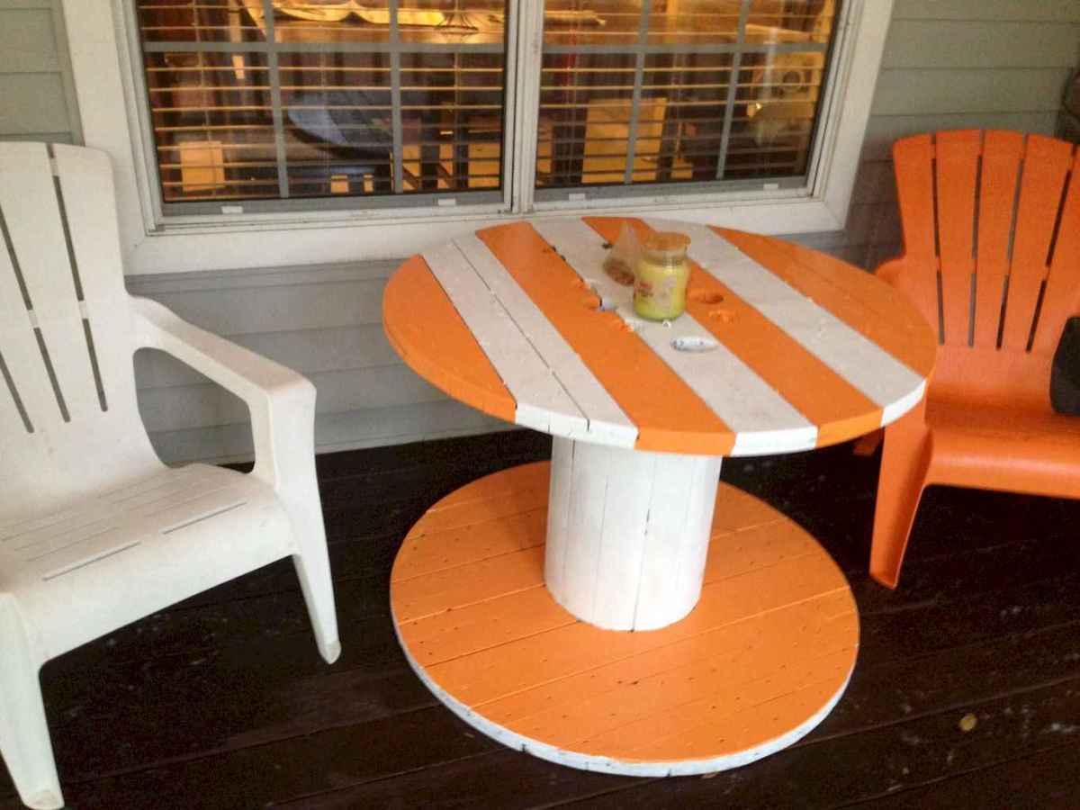 55 rustic outdoor patio table design ideas diy on a budget (24)