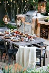 55 rustic outdoor patio table design ideas diy on a budget (46)