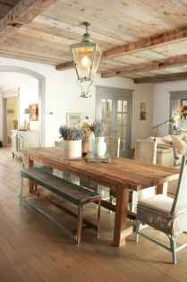 55 simple diy wooden dining table ideas that will inspire you (15)