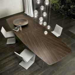 55 simple diy wooden dining table ideas that will inspire you (44)